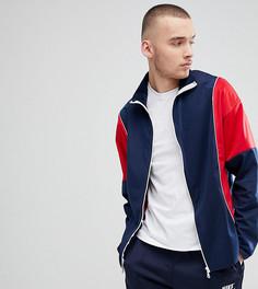 Красно-синяя спортивная куртка Reclaimed Vintage-Темно-синий