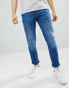 Узкие синие джинсы River Island-Синий