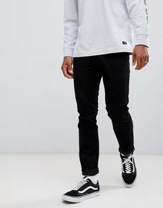 Черные джинсы скинни Lee luke-Черный