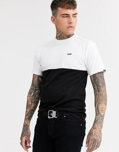Черная футболка колор блок Vans va3czdyb2-Черный
