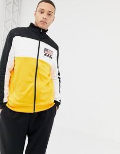 Черная спортивная куртка с принтом Penn Sport-Черный