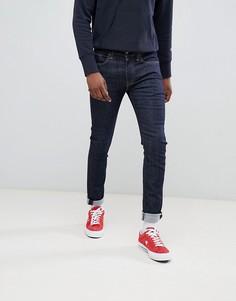 Супероблегающие джинсы цвета индиго с заниженной талией Levis 519-Синий Levis®