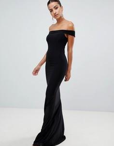 Платье макси Club L-Черный