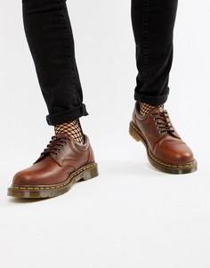 Коричневые туфли Dr.Martens 8053-Коричневый