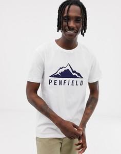 Белая футболка с логотипом Penfield Augusta-Белый