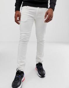 Белые вельветовые брюки скинни River Island-Белый