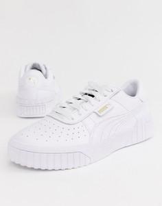 Белые кроссовки Puma Cali-Белый