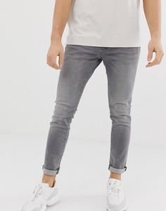 Серые джинсы скинни с заниженной талией Esprit-Серый