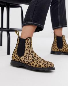 Ботинки челси с леопардовым принтом Dr Martens Flora-Мульти