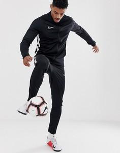 Черный спортивный костюм Nike Football academy
