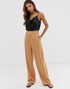 Широкие брюки Vero Moda aware-Светло-коричневый