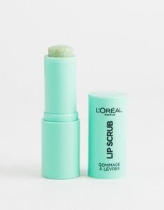 Скраб для губ LOreal Paris Lip Spa 01 Melon Breeze-Зеленый