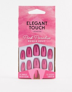 Накладные ногти Elegant Touch Pink Paradise - Power Pout-Мульти