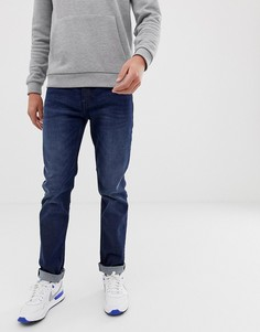 Узкие джинсы BOSS Delaware-Синий
