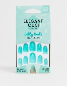 Накладные ногти Elegant Touch - Jel Jel Baby-Синий