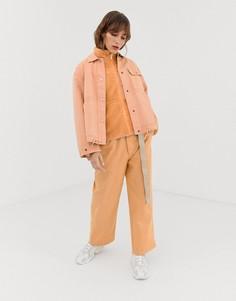 Укороченные брюки Penfield Bellamy-Розовый