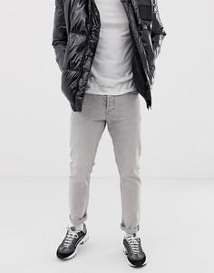Светло-серые джинсы скинни Calvin Klein Jeans-Серый