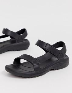 Черные сандалии Teva Hurricane Drift EVA-Черный