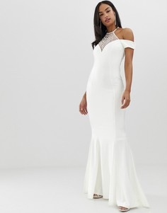 Платье макси City Goddess Вridal-Белый