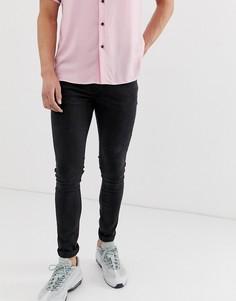 Черные джинсы скинни New Look-Черный