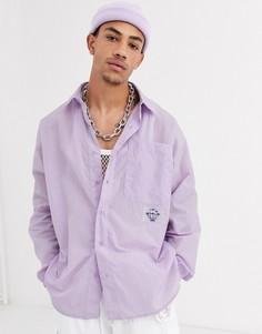 Фиолетовая рубашка с длинным рукавом Jaded London-Фиолетовый
