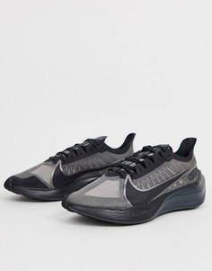 Черные кроссовки Nike Running Zoom Gravity-Черный