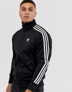 Черная спортивная куртка adidas Originals firebird-Черный