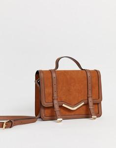 Портфель ASOS DESIGN-Светло-коричневый