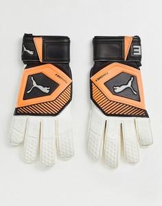 Вратарские перчатки Puma-Белый