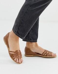 Кожаные туфли Park Lane-Светло-коричневый