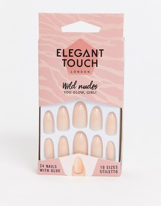 Накладные ногти Elegant Touch Wild Nudes - You Glow Girl-Розовый