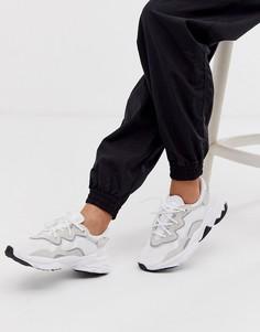 Белые кроссовки adidas Originals Ozweego-Белый