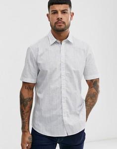 Рубашка в тонкую полоску Esprit-Белый