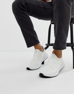 Белые сетчатые кроссовки с мягким верхом Jack & Jones-Белый