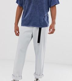 Широкие джинсы голубого цвета Noak-Синий