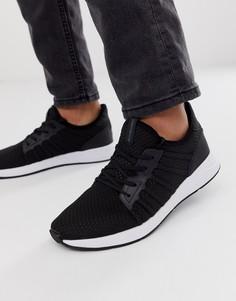 Черные сетчатые кроссовки с мягким верхом Jack & Jones-Черный