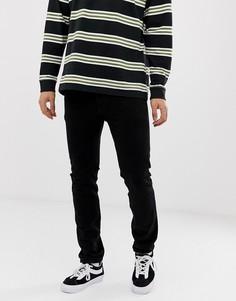 Черные окрашенные джинсы скинни с классической талией Levis 501-Черный Levis®