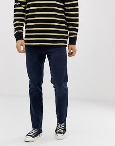 Темные зауженные джинсы с заниженной талией Levis 501-Синий Levis®