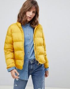 Дутая куртка Herschel-Желтый