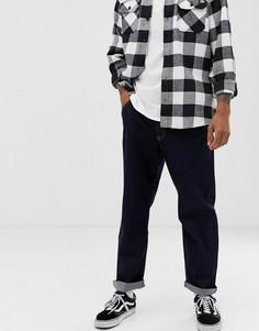 Синие широкие джинсы Brooklyn Supply Co-Синий