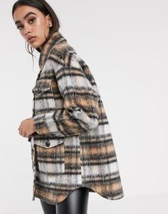 Куртка в клетку ASOS DESIGN-Мульти