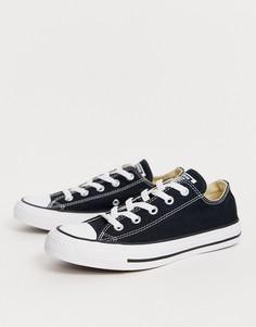 Черные кроссовки Converse Chuck Taylor All Star Ox-Черный