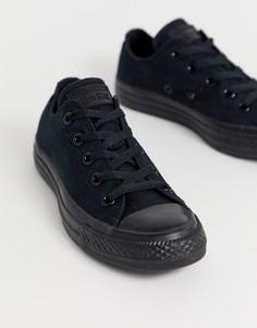 Черные монохромные кеды Converse Chuck Taylor All Star Ox-Черный