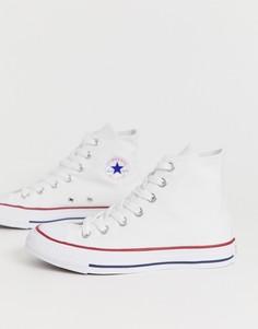 Высокие белые кеды Converse Chuck Taylor All Star-Белый