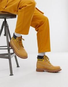 Походные ботинки медового цвета Caterpillar Сolorado-Светло-коричневый
