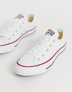 Белые кеды Converse Chuck Taylor All Star Ox-Белый