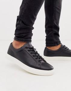 Черные премиум-кроссовки с контрастной подошвой Jack & Jones-Черный