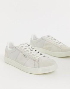 Кремовые кроссовки Jack & Jones-Белый