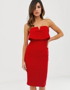Облегающее платье AX Paris-Красный