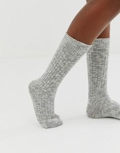 Серые носки из меланжевого хлопка Birkenstock-Серый